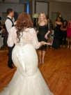 Trumpet/Mermaid Lace Tulle Off-the-Shoulder 1/2 Sleeves Sweep/Brush Train Wedding Dresses